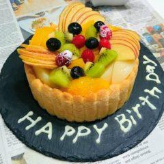 お誕生日ケーキも作ります♪