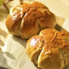 大きなくるみパン