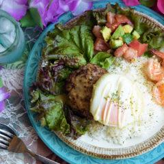 Aメニュー料理クラス1周年特別メニュー 「ハワイ大好き!ハワイアンメニュー」