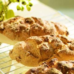 イチジクとライ麦のハードパン